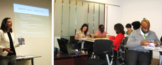 RES Gives Retail Market Data Workshop at LISC